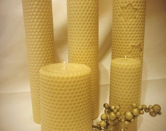 100% Beeswax Candles