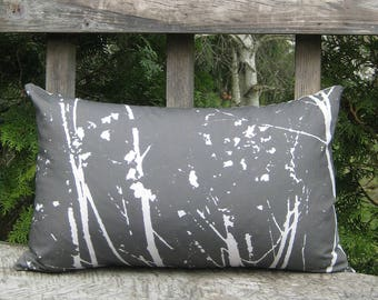 Includes Insert & Free Shipping! Abstract Tree pillow, Nature pillow, Photograph, Tree branch pillow, Handmade item!
