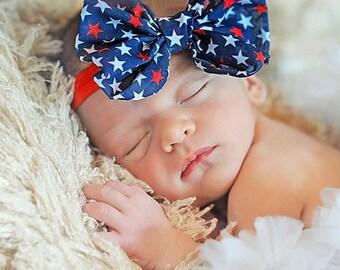 Patriotic Baby Headband