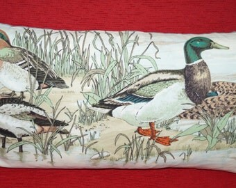 Pillow case duck and pond 64 cm x 35 cm