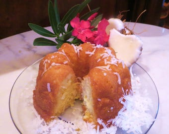 ZULU   Coconut Rum Cake