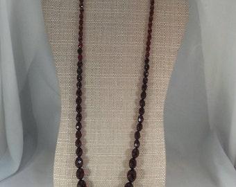 CHERRY AMBER BAKELITE Necklace