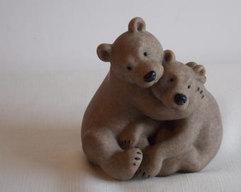 Special Reduction:   A delightful pair of Fountasia bears.