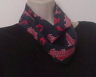 Cleveland Indians Infinity Style Scarf