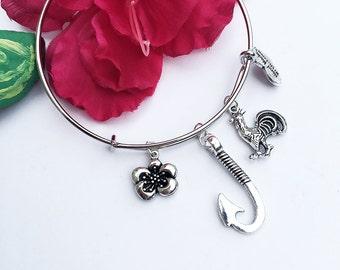Moana Inspired Charm Bracelet