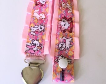 Made to order Marie Paci/Pacifier/Dummy/Binkie Clip - Adult Baby, Abdl, Little space, Ddlg, Cgl, Ageplay (Pacifier not included)