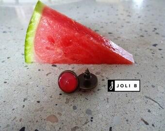 Watermelon - Earrings - Studs earrings