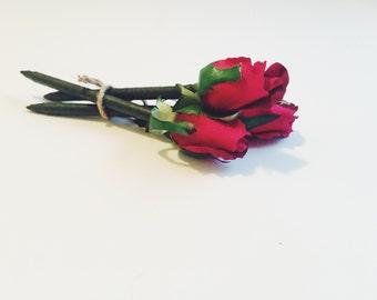 Rose Bud FlowerPen