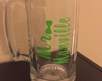 Personalized MR Beer Mug
