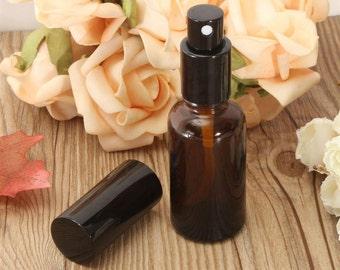1 Pc 30 mL Amber Glass Spray Bottle Vial