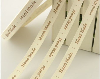7 m Cotton Ribbon Handmade Labels