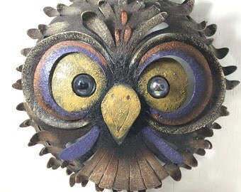 Rustic Owl Wall Decor