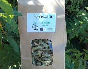 Organic Herbal tea - Vervein - dry leaves - 20g - Super quality, delicious flavour.