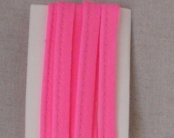 Piping pink Fluo in cotton