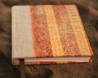 Hardcover Blank Book Handmade Stitched Codex Binding Compact Size