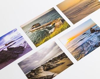 Five Postcards, Biarritz (France) Ocean Photography