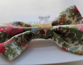Floral Print | Traditional Bow | Hair Tie