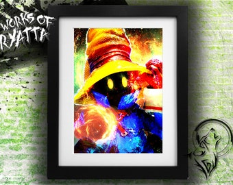 Vivi Black Mage Final Fantasy IX Print