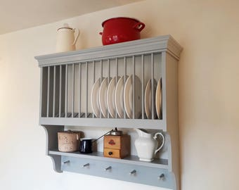 Traditional Plate Rack