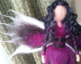 Needle Felted Fairy Witchety