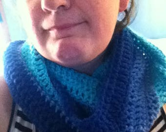 Seas of Blue Infinity Scarf