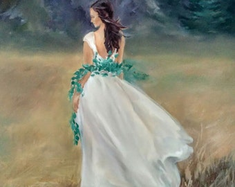 "Original Oil Painting - 20"" x 24"" 