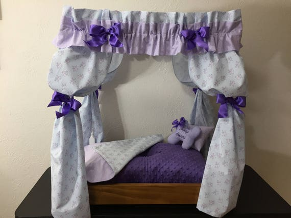 Like this item? & Princess Dog Canopy Bed Small Dog Bed Cat Bed Pet Furniture