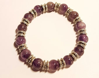 Bracelet with Amethyst