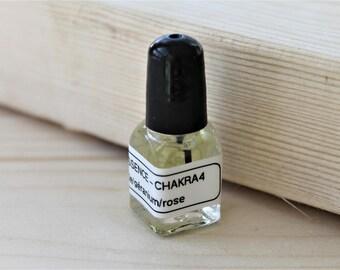CHAKRA #4 COMPASSION oil, essential oils, chakra oils, pure essential oils