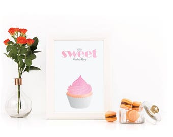 You sweet little thing, Muffin, Instant download