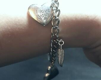 Sweetheart 'I love you' Bracelet