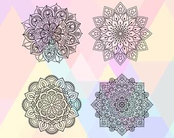 Mandala SVG File | Boho Mandala Svg | Mandala Dxf | Mandala File | Tribal Mandala Svg | Mandala Eps | Mandala Vector | Ethnic Mandala Svg