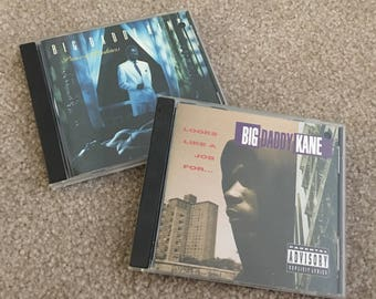 Big Daddy Kane 2 CDs, Prince of Darkness, Looks Like a Job For ...