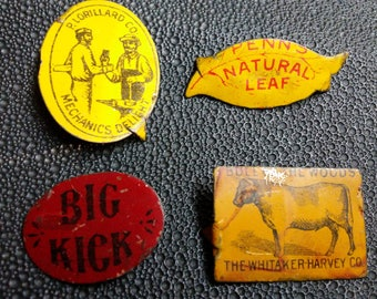 Tobacco Advertising Tags