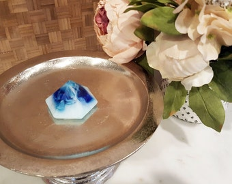 Indigo Blue Diamond Soap