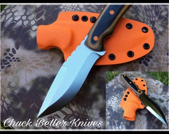 Handmade custom fixed blade knife
