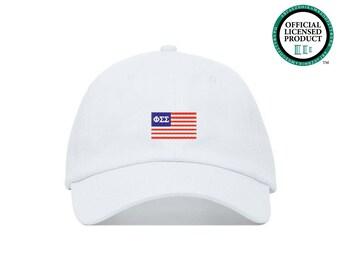 Kappa Kappa Gamma Sorority Baseball Cap (Flag)
