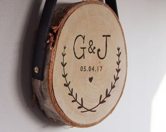 Personalised wedding gift, 5th anniversary gift