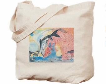 see•kin•gp•eac•e - market bag