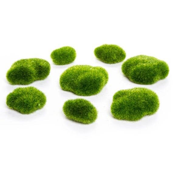 Superb Mini Fairy Garden Moss Rocks/ Moss Rocks/ Mini Fairy Garden/