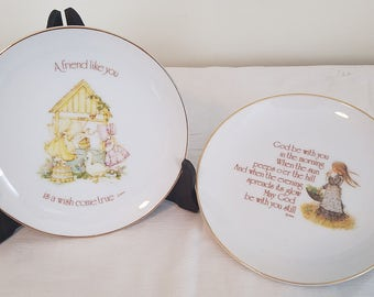 Holly Hobbie Lasting Memories Collectible Plates