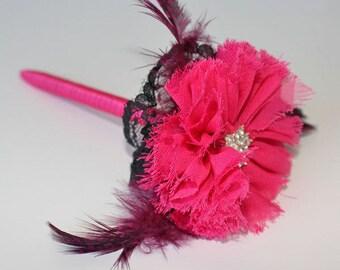 Guest Book Pen, Flower Pen, Wedding Pen, Signing Pen, Rustic Pen, Bling Pen
