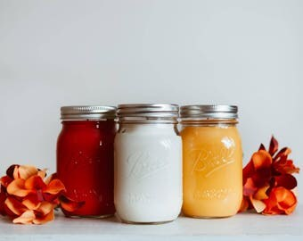 Sample Sale Soy Mason Jar Candle