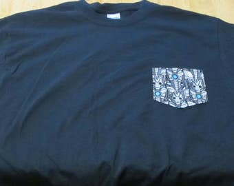 Doctor Who Cybermen Pocket T-shirt
