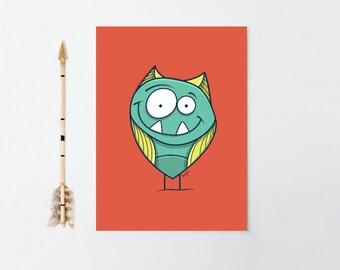 Zigouille Fine Art | Monster
