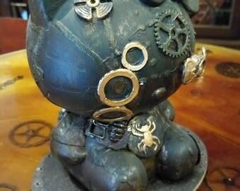 Steampunk Hello Kitty / OOAK Figure