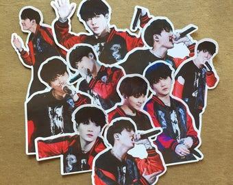 BTS Suga Stickers