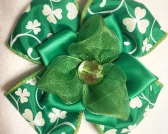 St.Patrick's ponytail holder