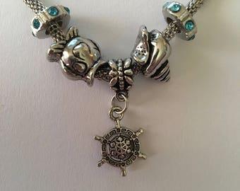 Sea Inspired Charm Bracelet
