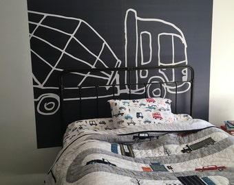 Bed room Mural (Truck)